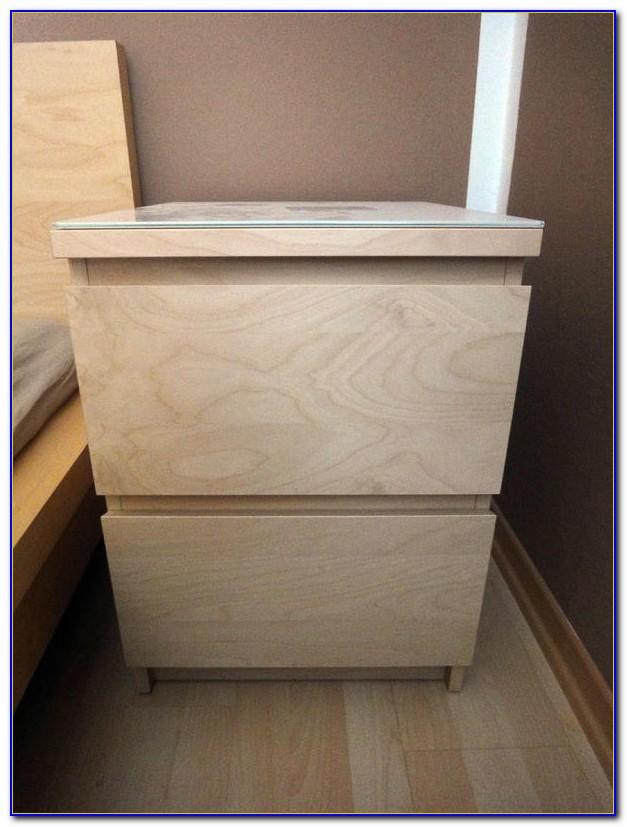 Ikea Malm Kommode 2 Schubladen Birke
