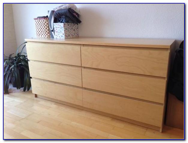 Ikea Malm Kommode 4 Skuffer