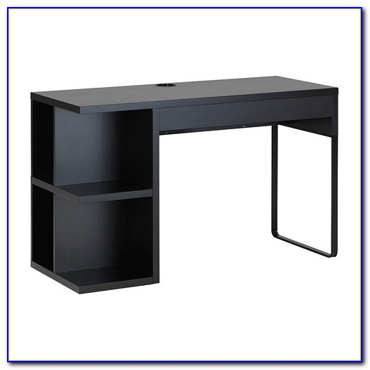 Ikea Micke Schreibtisch Mit Aufsatz