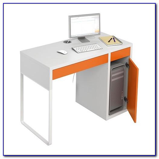 Ikea Micke Schreibtisch Weiß
