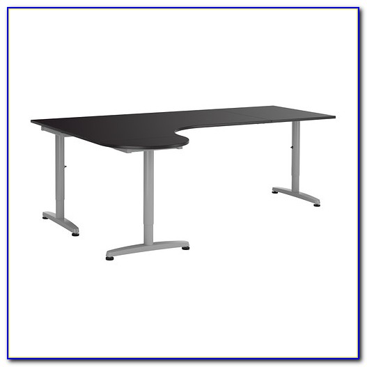 Ikea Schreibtisch Galant Aufbauanleitung