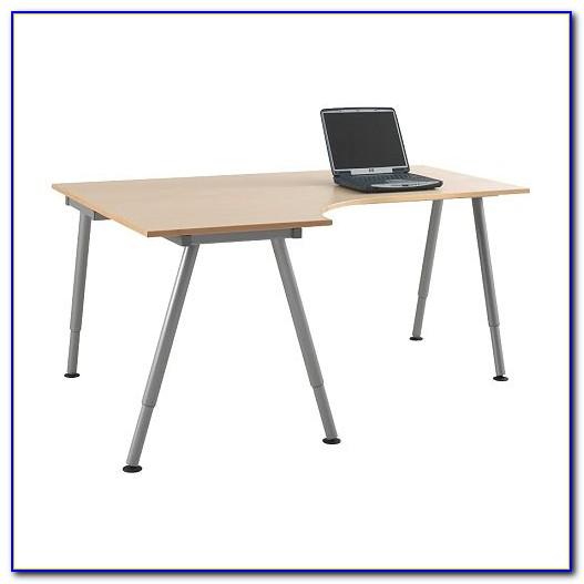 Ikea Schreibtisch Galant Weiß