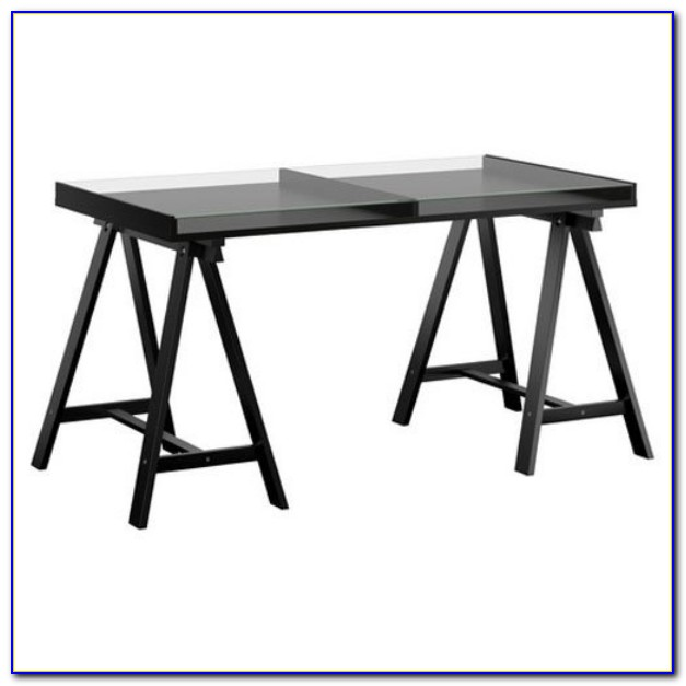 Ikea Schreibtisch Glasholm