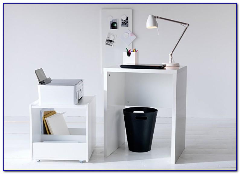 Ikea Schreibtisch Gustav Schwarzbraun