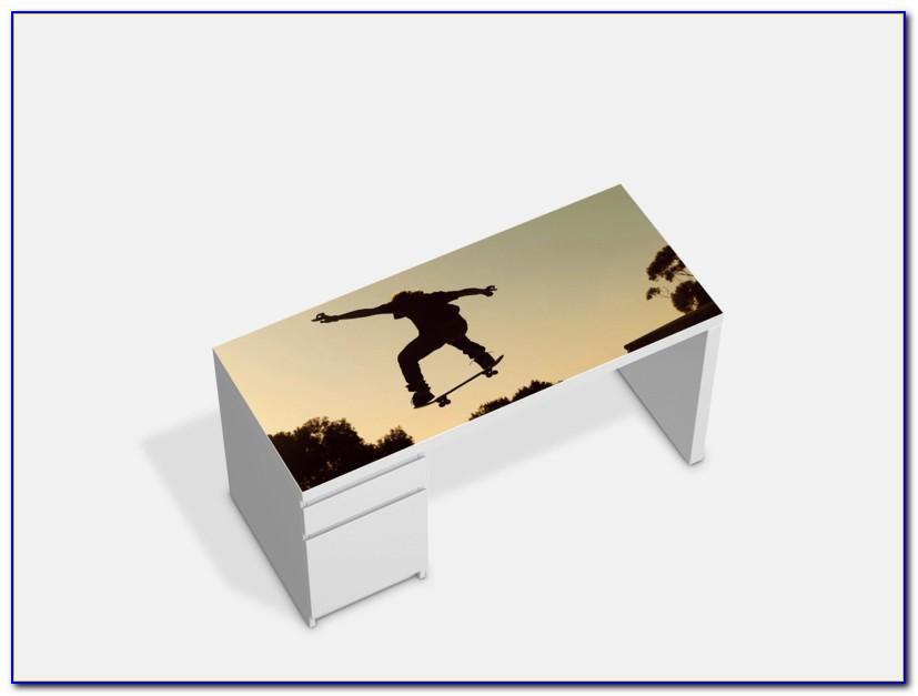 Ikea Schreibtisch Jonas Birke Furnier