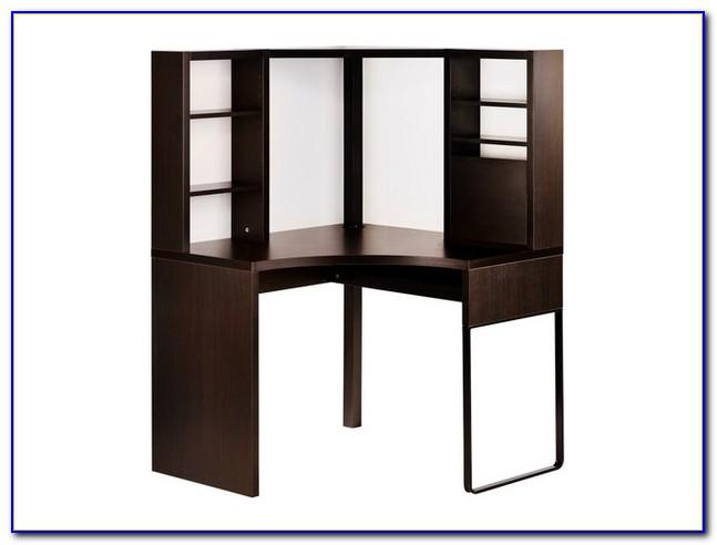 Ikea Schreibtisch Malm Schwarzbraun