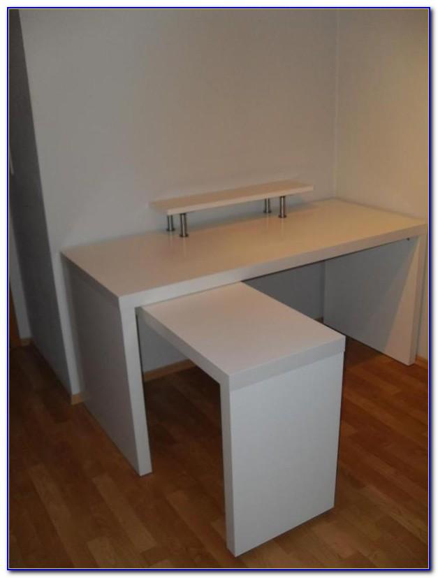 Ikea Schreibtisch Mikael Weiß