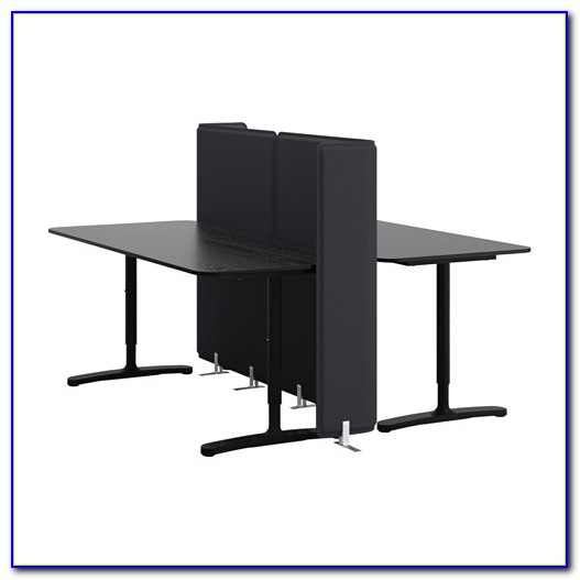Ikea Schreibtisch Schwarz Weiß