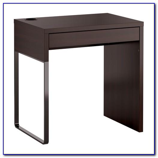 Ikea Schreibtisch Schwarzbraun