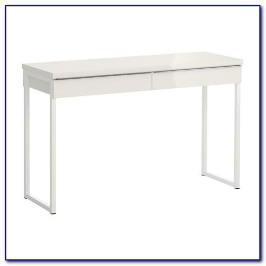 Ikea Schreibtisch Weiß Hochglanz