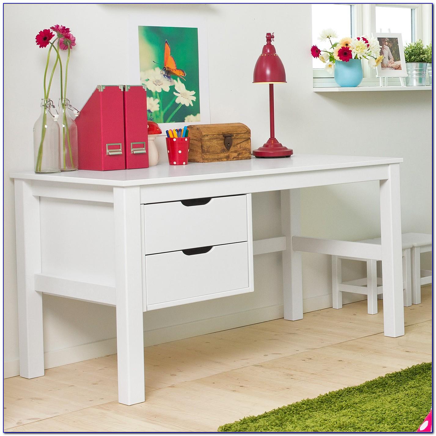 Ikea Schreibtisch Weiß Holz