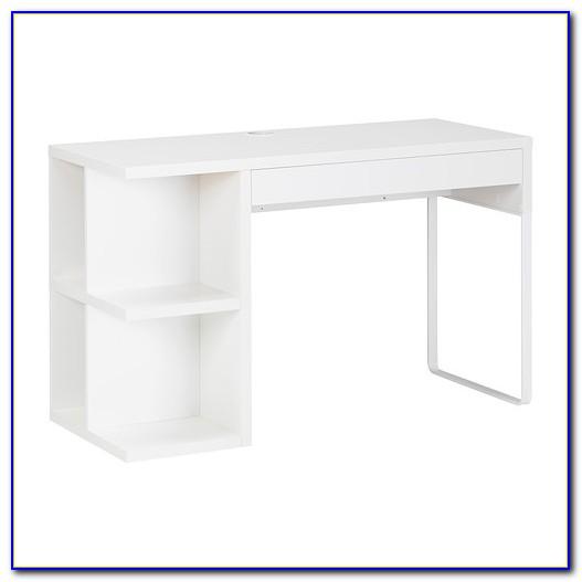 Ikea Schreibtisch Weiß Mit Glasplatte