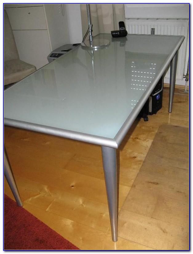Ikea Schreibtischplatten Glas