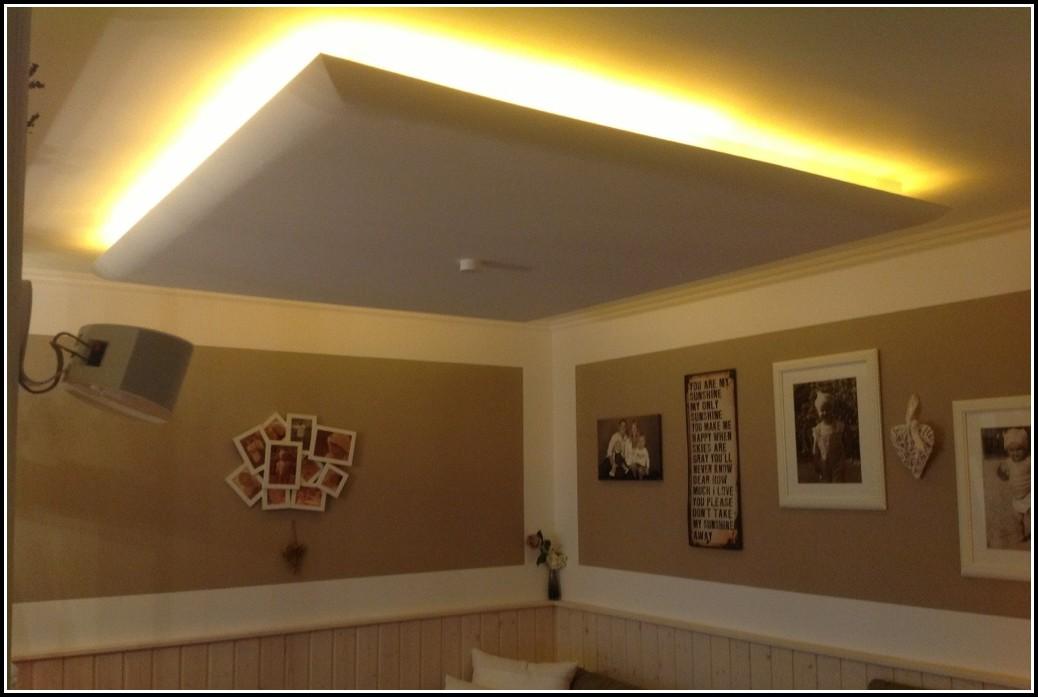 Indirekte Beleuchtung Decke Trockenbau