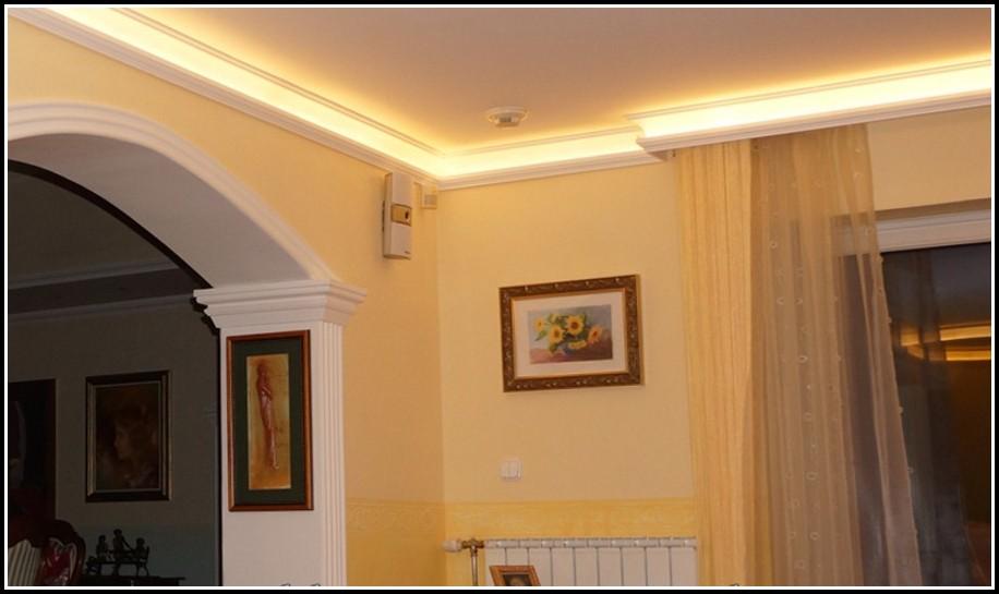 Indirekte Beleuchtung Stuckleiste