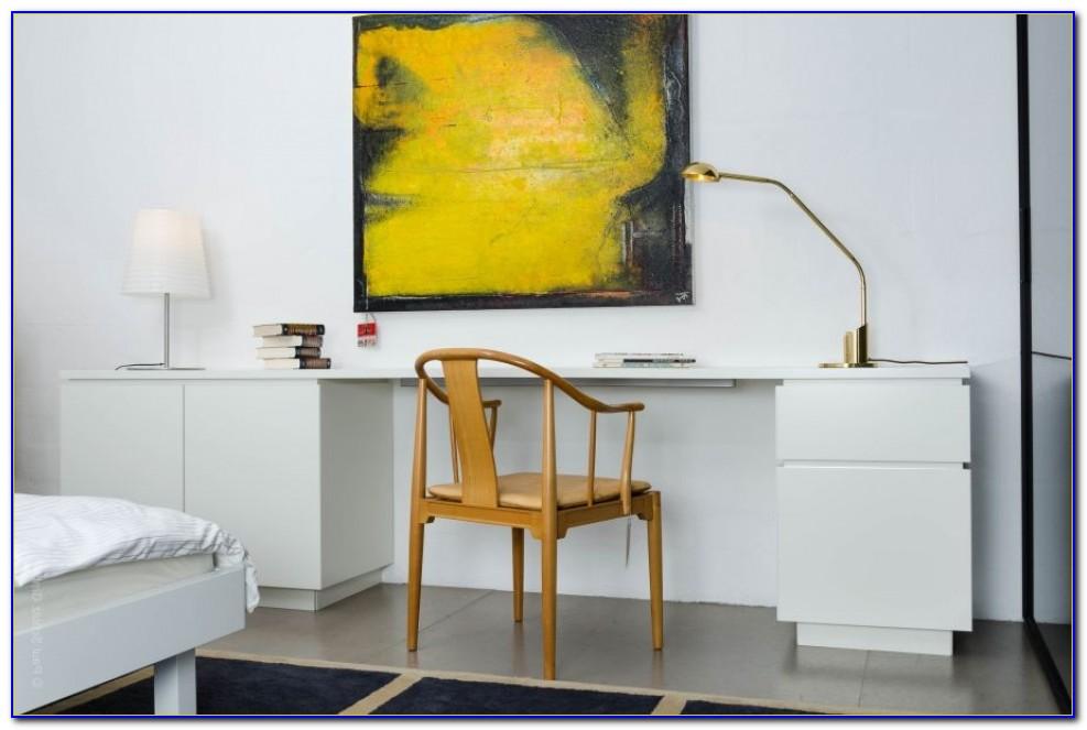 Interlübke Schreibtisch Weiß
