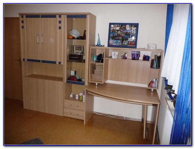 Jugendzimmer Schrankwand Mit Schreibtisch
