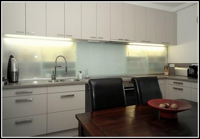 Küche Glasplatte Statt Fliesen