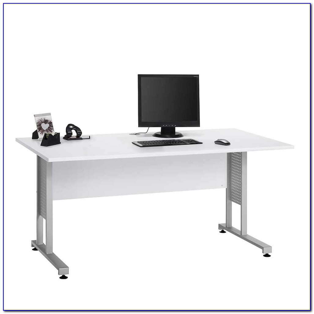 Kabelkanal Schreibtisch Weiß
