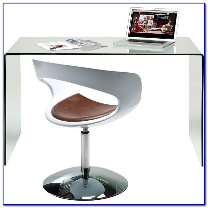 Kare Design Schreibtisch Glas