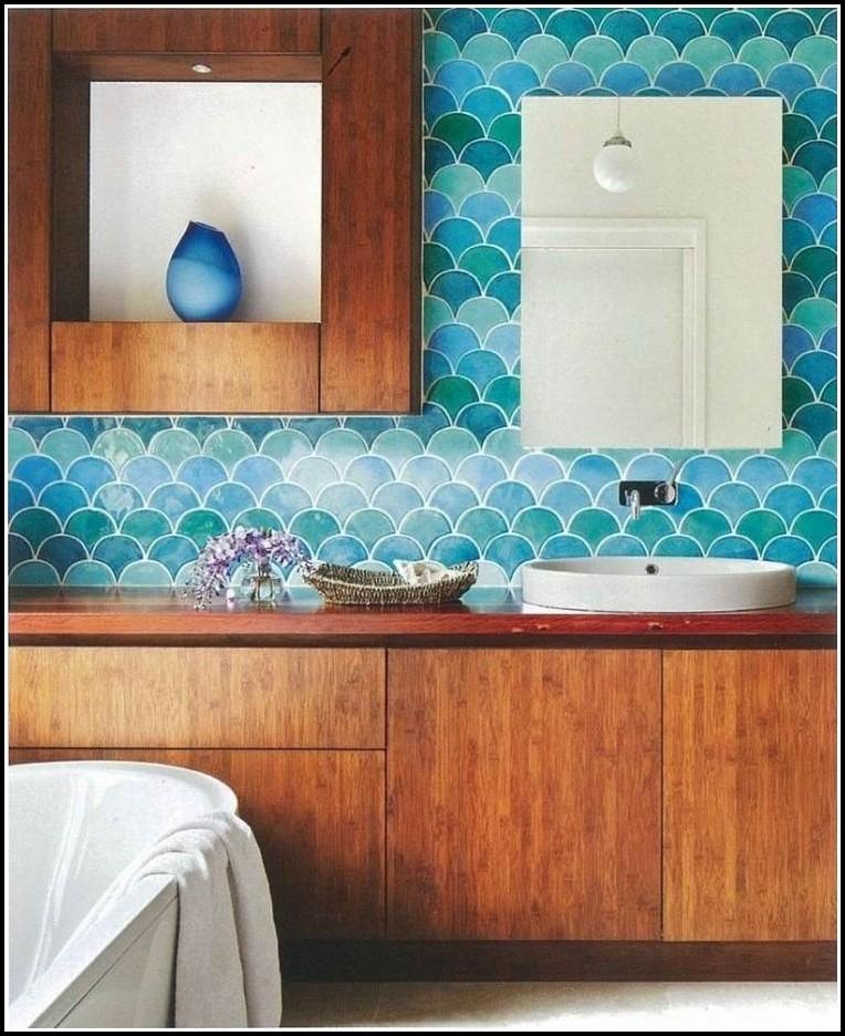 Keramik Mosaik Fliesen Blau