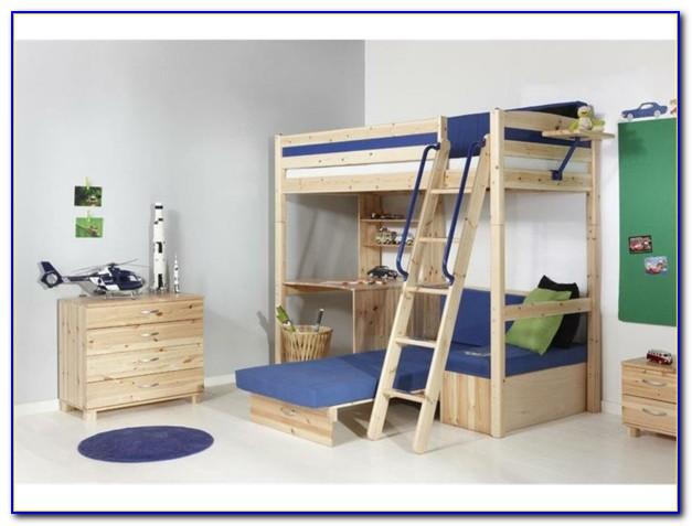 Kinder Etagenbett Mit Schreibtisch