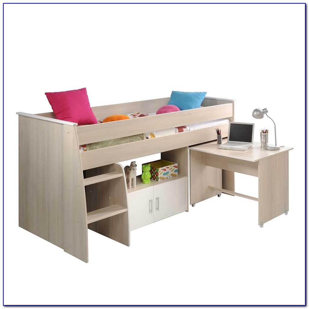 Kinderbett Mit Schreibtisch Und Kleiderschrank
