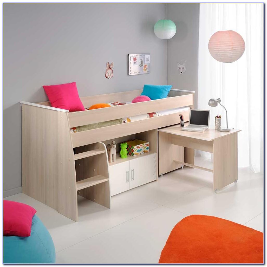 Kinderbett Mit Schreibtisch Und Schrank