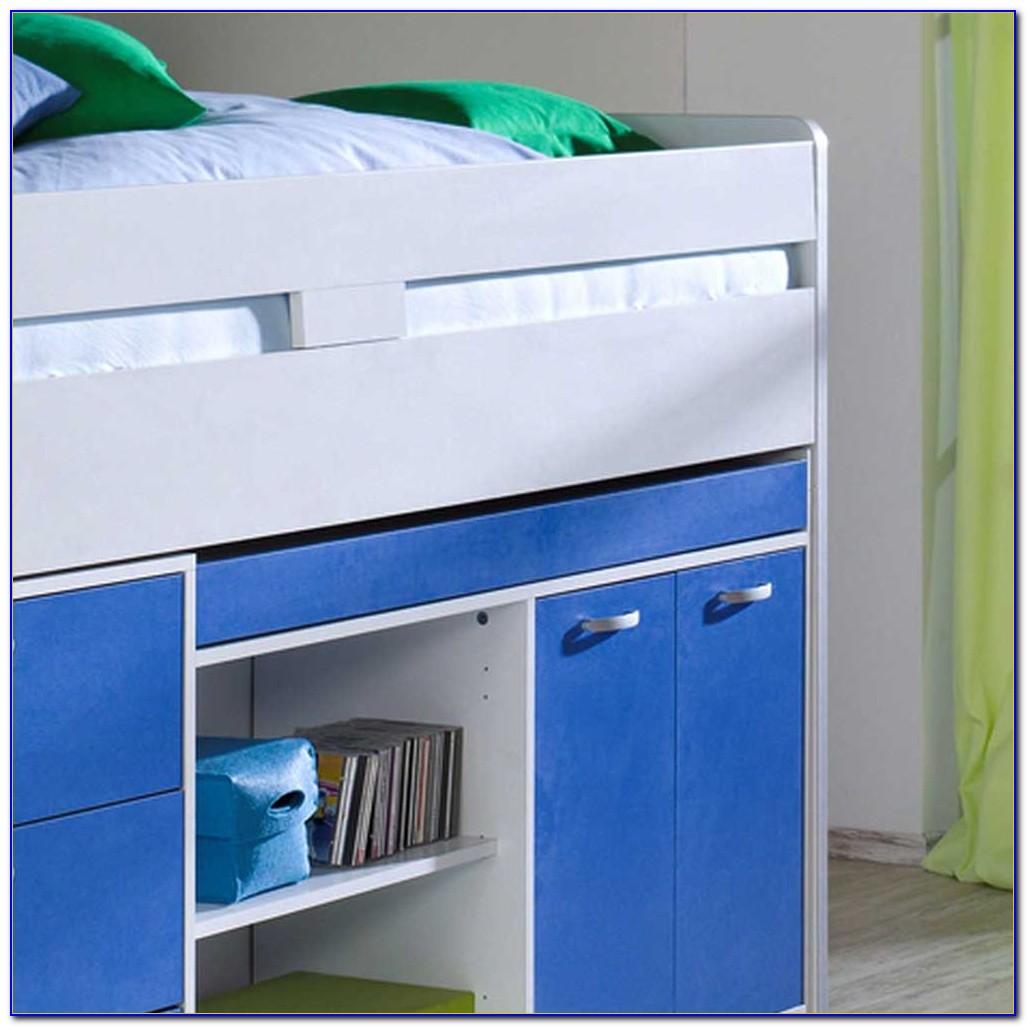 Kinderhochbett Mit Schreibtisch Und Schrank