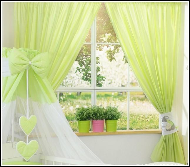 Kinderzimmer Gardinen Or Vorhänge Sleeping Bear Grün