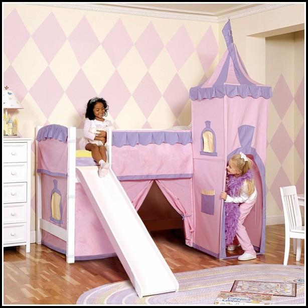 Kinderzimmer Rutsche Holz