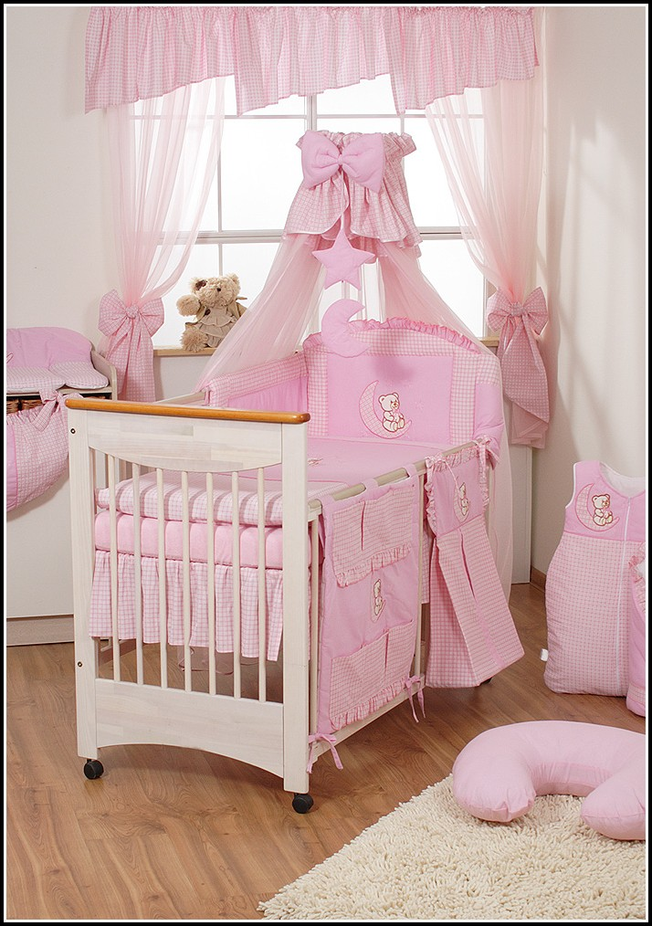 Kinderzimmer Vorhänge Rosa Herzen