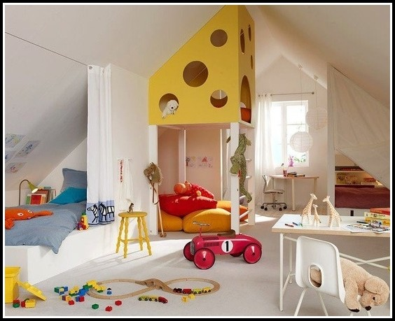 Kinderzimmer Wand Design Ideen
