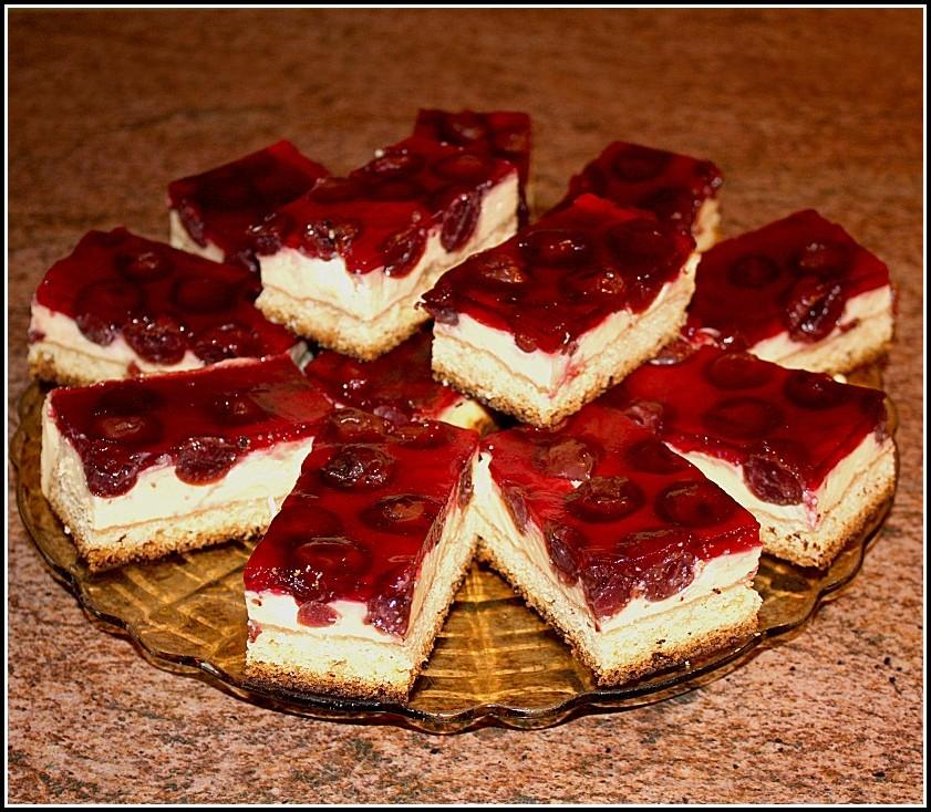 Kirsch Pudding Kuchen Kalorien