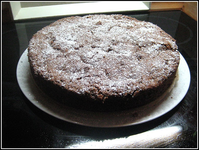 Kirsch Schoko Kuchen Saftig