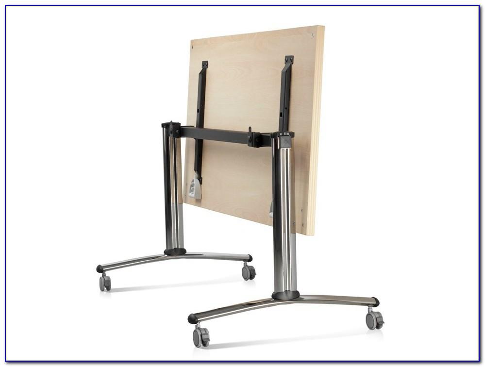 Klappbarer Schreibtisch Mit Regal