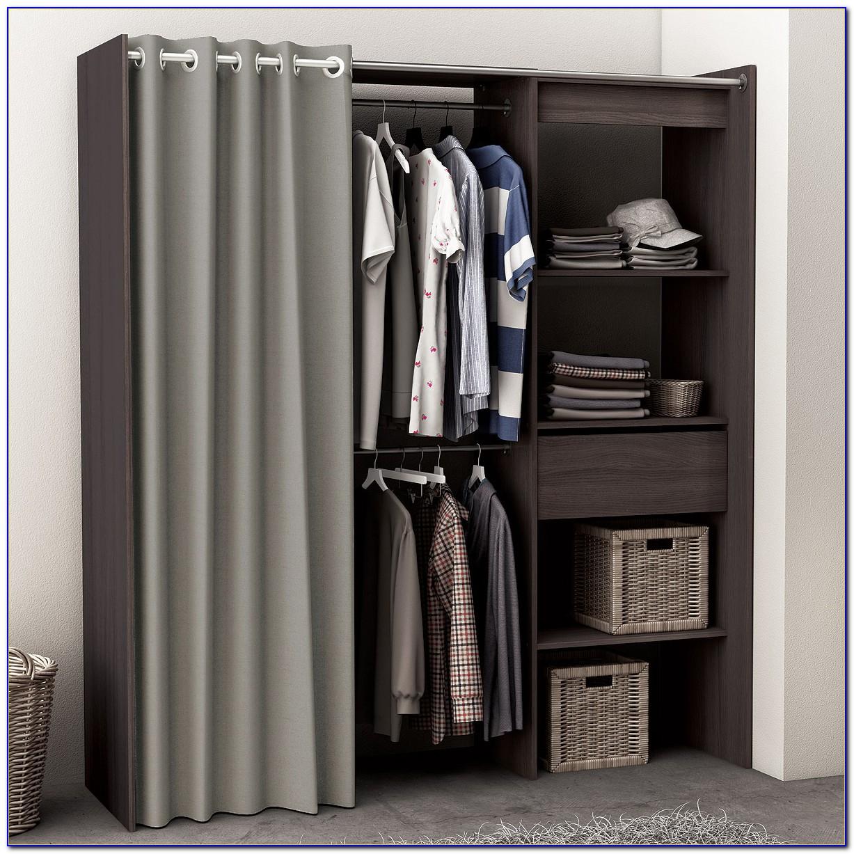 Kleiderschrank Mit Vorhang Bauen