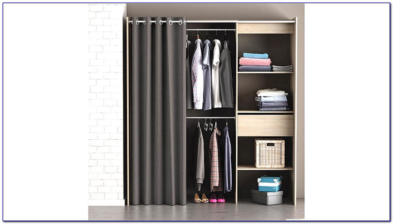 Kleiderschrank Mit Vorhang Ikea