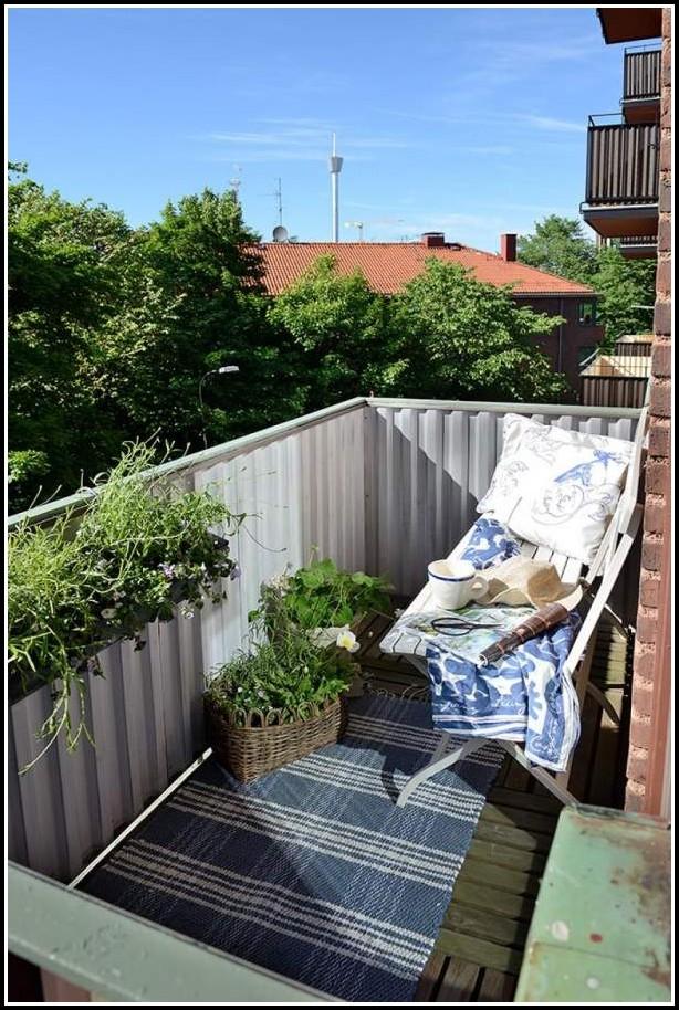 Kleine Balkone Gestalten