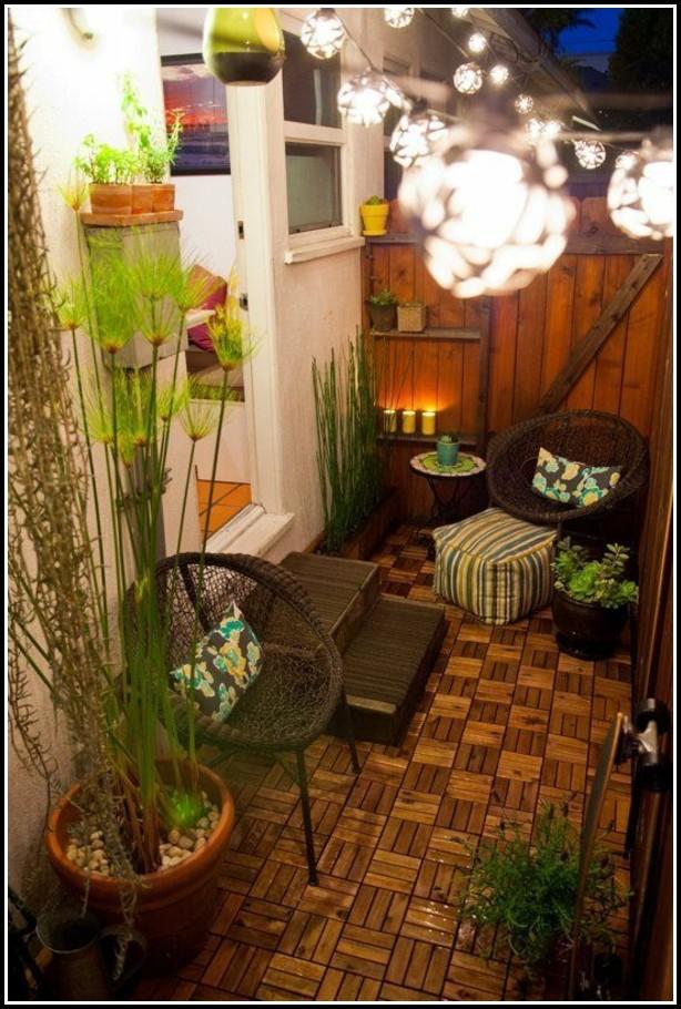 Kleiner Balkon Gestalten Ideen
