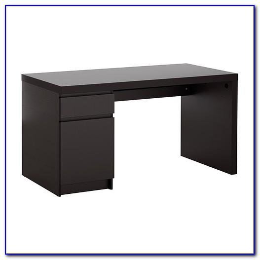 Kleiner Schreibtisch Dunkelbraun