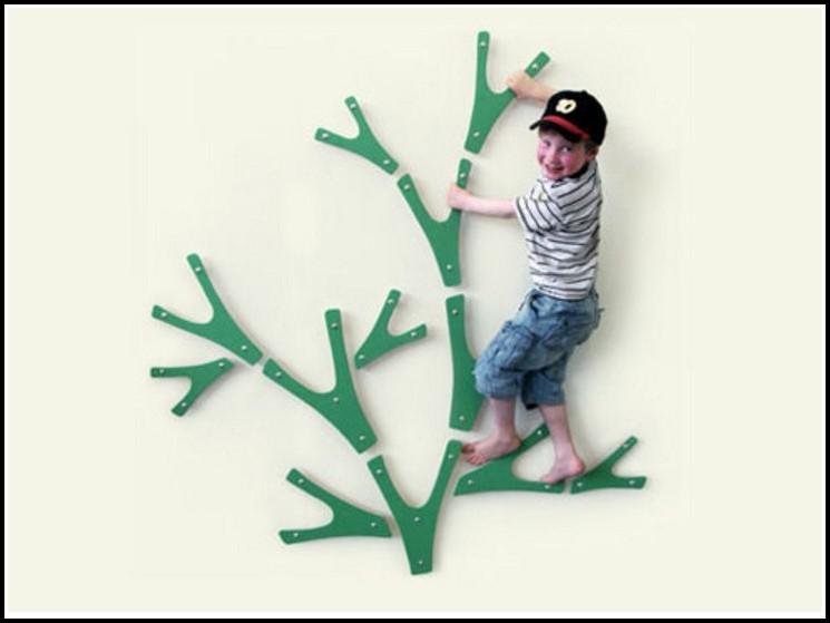 Klettern Und Schaukeln Im Kinderzimmer