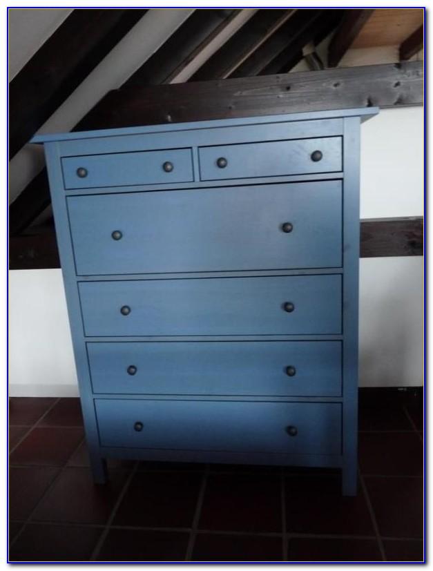 Kommode Blau Holz