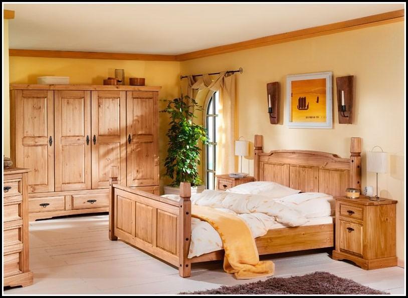 Komplett Schlafzimmer Massivholz