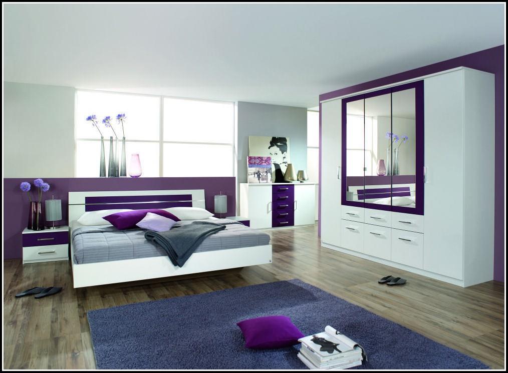 Komplett Schlafzimmer Weiß Lila