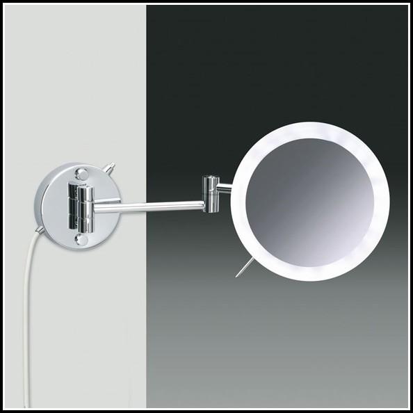 Kosmetikspiegel Mit Beleuchtung 5 Fache Vergrößerung
