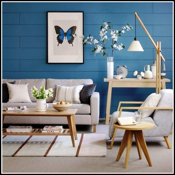 Kreative Wandgestaltung Wohnzimmer