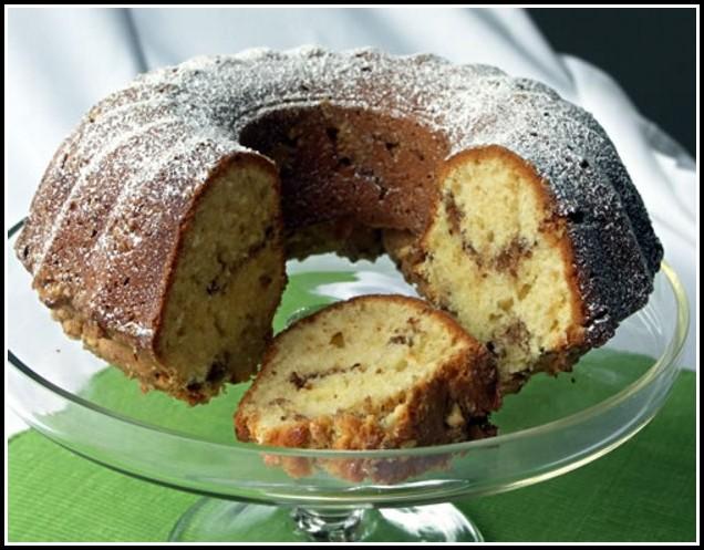 Kuchen Con Crema Pastelera