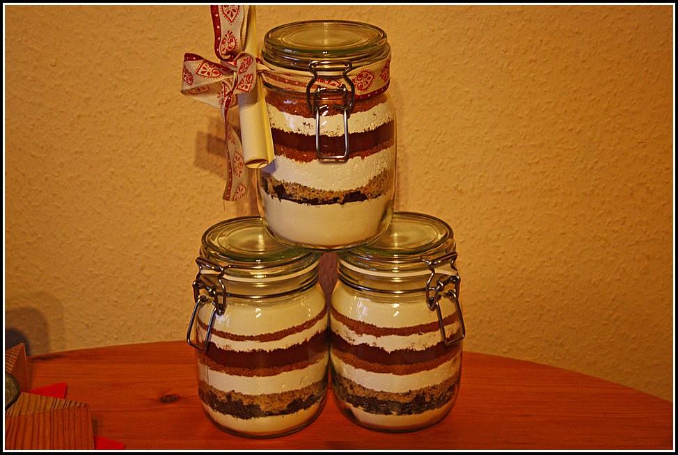 Kuchen Im Glas Geschenk Weihnachten