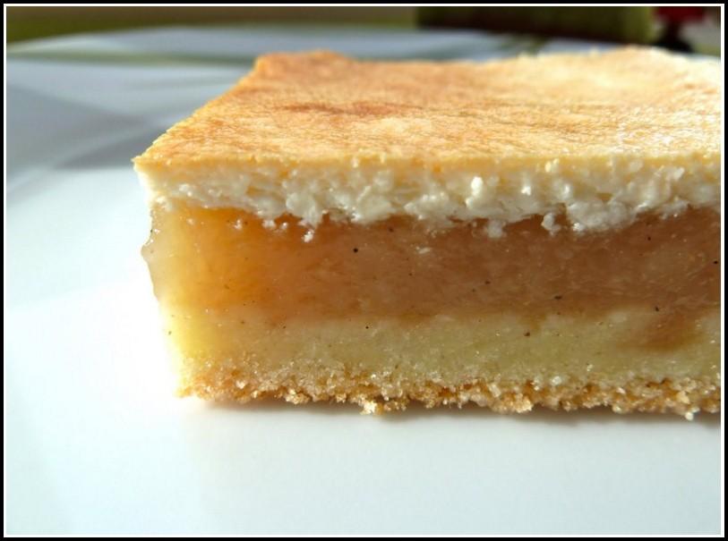 Kuchen Mit Apfel Und Pudding